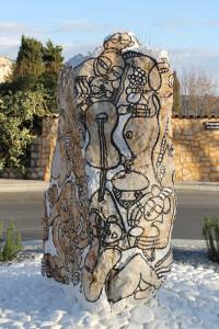 Rond point Daniel Fillod pierre qui chante dec2012 BR (8)