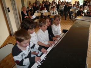 Concert de fin de stage 17 avril 2010 (académie de printemps) au Pradet (Var)