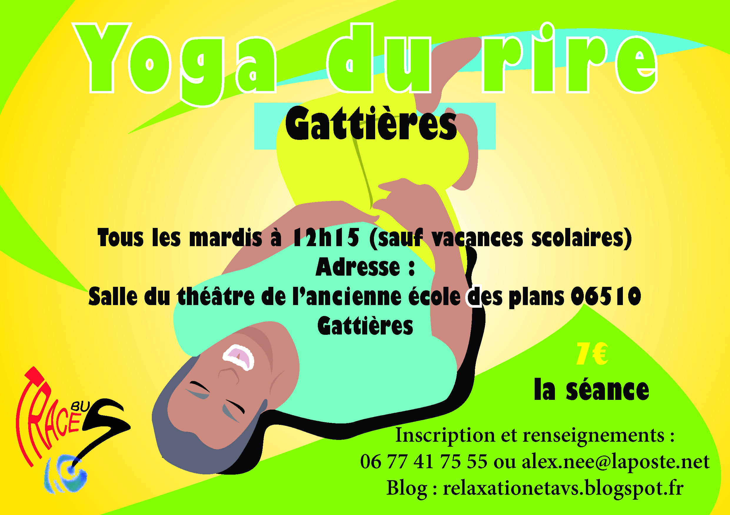 Traces Yoga Du Rire Site De Gattieres