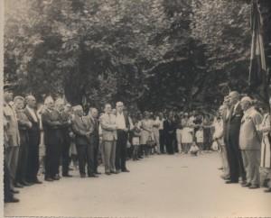 Inauguration flammes 1964 Lipa