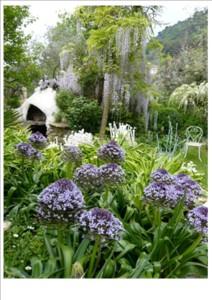 Jardin de fleurs de Poterie
