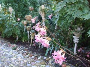 Jardin de fleurs de poterie 2009 (1)