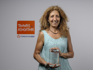Marie-Claire RUIZ et le Trophée EDF