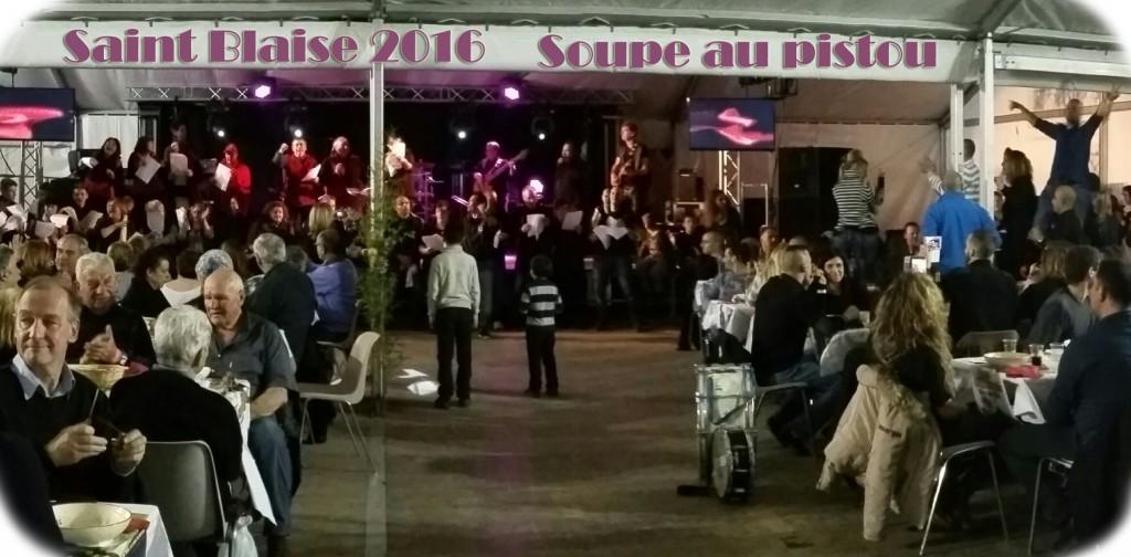St Blaise – Soupe au pistou