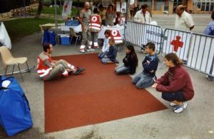 Formation aux premiers secours Croix rouge 2007