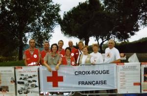 Une partie des bénévoles de la délégation locale de la croix rouge 2007